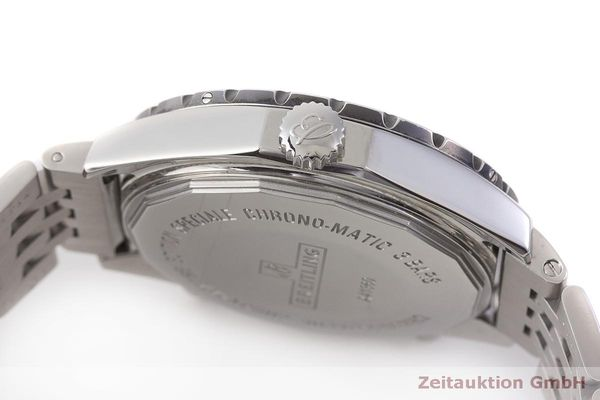 gebrauchte Luxusuhr Breitling Chrono-Matic Chronograph Stahl Automatik Kal. 2892A2 Ref. A41360  | 183581 11