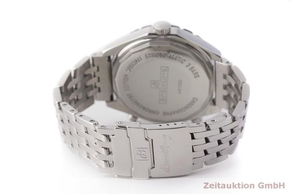 gebrauchte Luxusuhr Breitling Chrono-Matic Chronograph Stahl Automatik Kal. 2892A2 Ref. A41360  | 183581 12