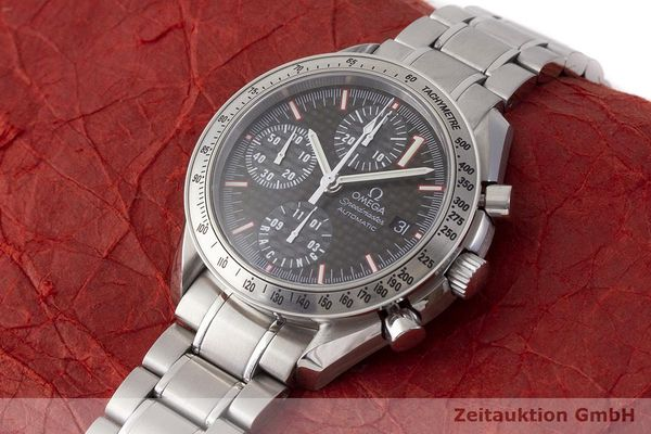 gebrauchte Luxusuhr Omega Speedmaster Racing Chronograph Stahl Automatik Kal. 1152 Ref. 175.0086 LIMITED EDITION | 183804 01