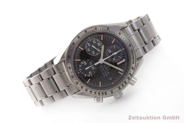 gebrauchte Luxusuhr Omega Speedmaster Racing Chronograph Stahl Automatik Kal. 1152 Ref. 175.0086 LIMITED EDITION | 183804 03