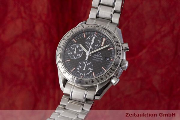 gebrauchte Luxusuhr Omega Speedmaster Racing Chronograph Stahl Automatik Kal. 1152 Ref. 175.0086 LIMITED EDITION | 183804 04