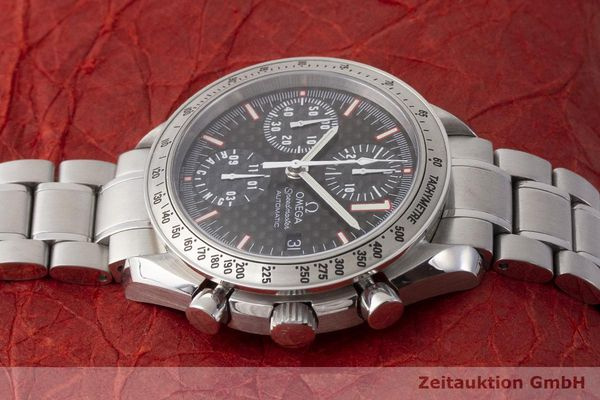 gebrauchte Luxusuhr Omega Speedmaster Racing Chronograph Stahl Automatik Kal. 1152 Ref. 175.0086 LIMITED EDITION | 183804 05