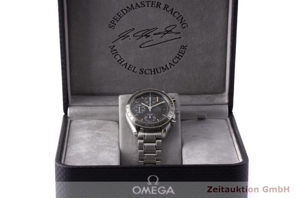 gebrauchte Luxusuhr Omega Speedmaster Racing Chronograph Stahl Automatik Kal. 1152 Ref. 175.0086 LIMITED EDITION | 183804 07