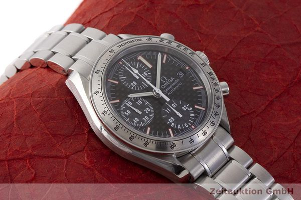 gebrauchte Luxusuhr Omega Speedmaster Racing Chronograph Stahl Automatik Kal. 1152 Ref. 175.0086 LIMITED EDITION | 183804 16