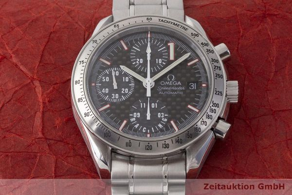 gebrauchte Luxusuhr Omega Speedmaster Racing Chronograph Stahl Automatik Kal. 1152 Ref. 175.0086 LIMITED EDITION | 183804 17