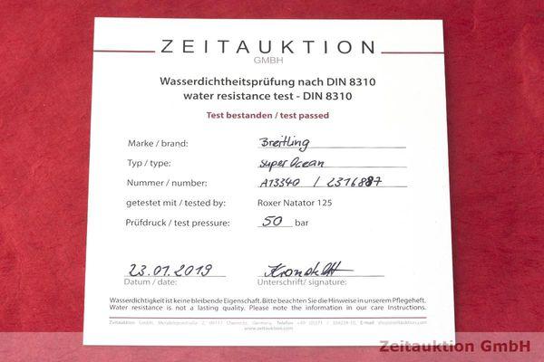 gebrauchte Luxusuhr Breitling Superocean Chronograph Stahl Automatik Kal. Eta 7750 Ref. A13340  | 1900001 _1