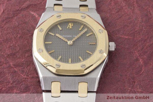 gebrauchte Luxusuhr Audemars Piguet Royal Oak Stahl / Gold Quarz Kal. 2502 Ref. B80009  | 1900002 _1