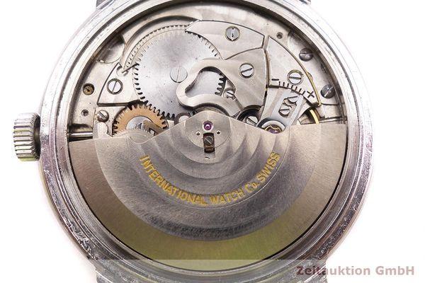gebrauchte Luxusuhr IWC * Stahl Automatik Kal. C.8541 Ref. 803A VINTAGE  | 1900005 _1