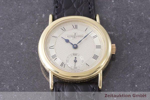 gebrauchte Luxusuhr Ulysse Nardin Classico 18k Gold Handaufzug Kal. ND10G Ref. 91-22  | 1900010 _1