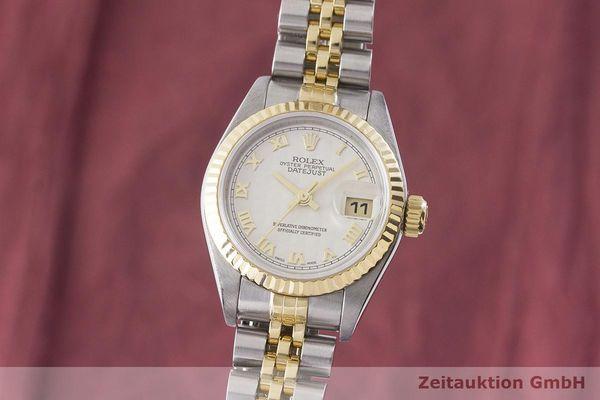 gebrauchte Luxusuhr Rolex Datejust Stahl / Gold Automatik Kal. 2235 Ref. 79173    1900012 _0