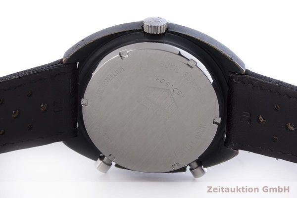 gebrauchte Luxusuhr Heuer Monza Chronograph Messing verchromt Automatik Kal. 15 Ref. 150.501 VINTAGE  | 1900013 _0
