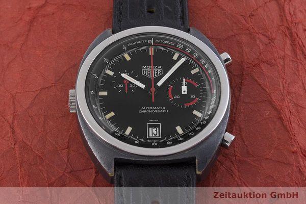 gebrauchte Luxusuhr Heuer Monza Chronograph Messing verchromt Automatik Kal. 15 Ref. 150.501 VINTAGE  | 1900013 _1