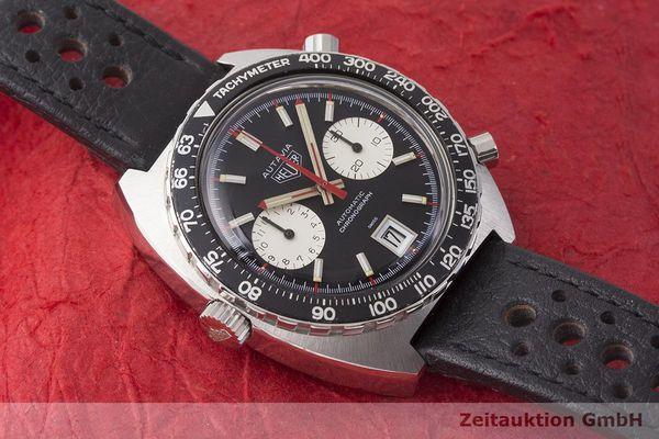 gebrauchte Luxusuhr Heuer Autavia Chronograph Stahl Automatik Kal. 11 Ref. 1163 VINTAGE  | 1900018 _1
