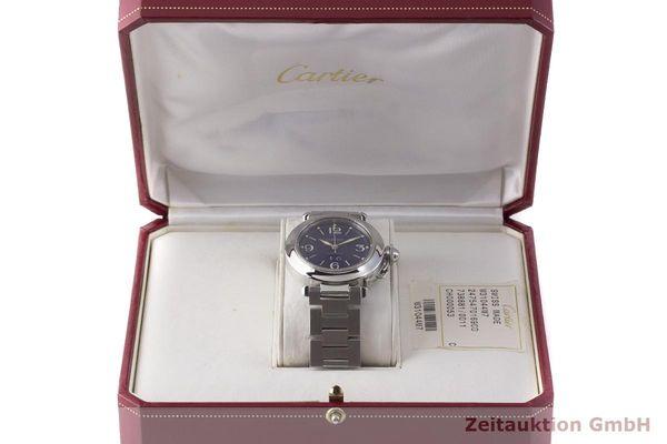 Usato di orologi di lusso Cartier Pasha acciaio automatismo Kal. 052, ETA 2892A2 Ref. 2475  | 1900022 _0