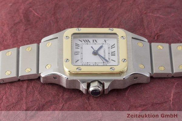 gebrauchte Luxusuhr Cartier Santos Stahl / Gold Automatik Kal. ETA 2670  | 1900023 _0
