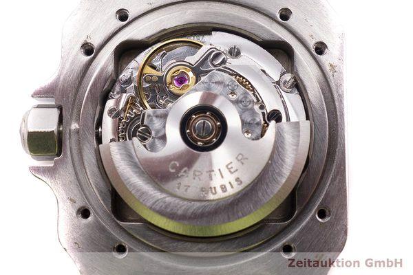 gebrauchte Luxusuhr Cartier Santos Stahl / Gold Automatik Kal. ETA 2670  | 1900023 _1