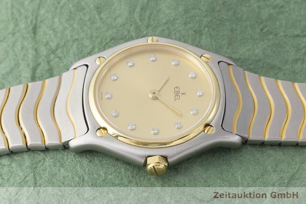 gebrauchte Luxusuhr Ebel Classic Wave Stahl / Gold Quarz Kal. 81 Ref. 181908  | 1900024 _0