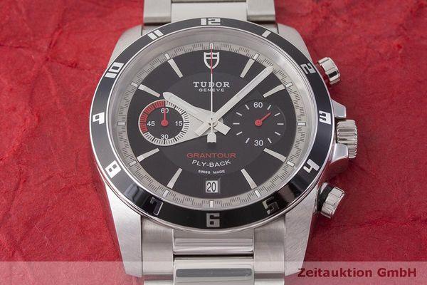 gebrauchte Luxusuhr Tudor Grantour Chronograph Stahl Automatik Kal. ETA 2892A2 Ref. 20550  | 1900029 _1