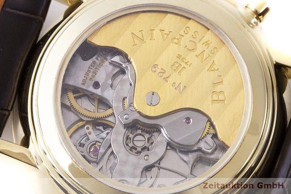 gebrauchte Luxusuhr Blancpain Villeret Chronograph 18k Gold Automatik Kal. 1186 Ref. 1186-141855    1900032 _1