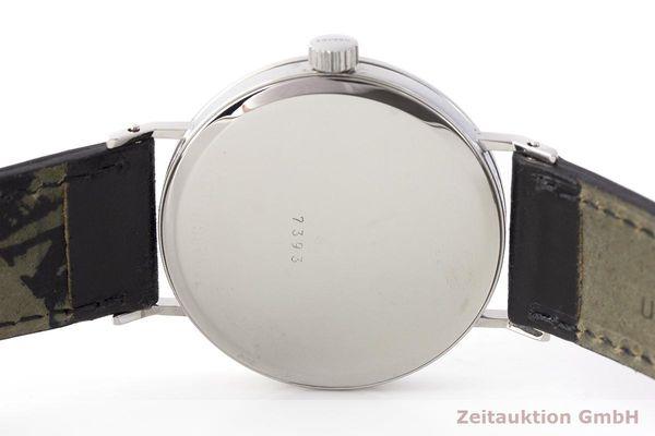 gebrauchte Luxusuhr Nomos Tangente Stahl Handaufzug Kal. ETA 7001    1900036 _0