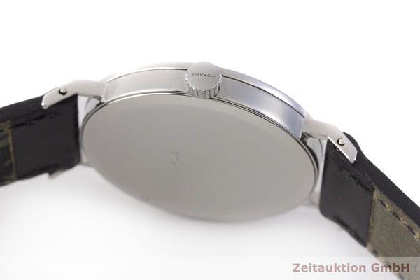 gebrauchte Luxusuhr Nomos Tangente Stahl Handaufzug Kal. ETA 7001    1900036 _1