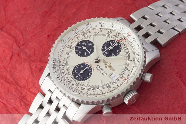 gebrauchte Luxusuhr Breitling Navitimer Chronograph Stahl Automatik Kal. ETA 7750 Ref. A13330  | 1900038 _0