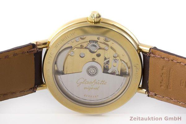 gebrauchte Luxusuhr Glashütte Spezimat vergoldet Automatik Kal. GUB 10-30  | 1900039 _0