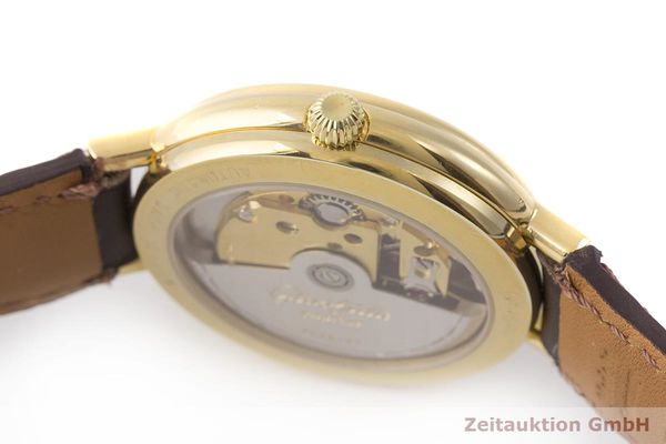 gebrauchte Luxusuhr Glashütte Spezimat vergoldet Automatik Kal. GUB 10-30  | 1900039 _1