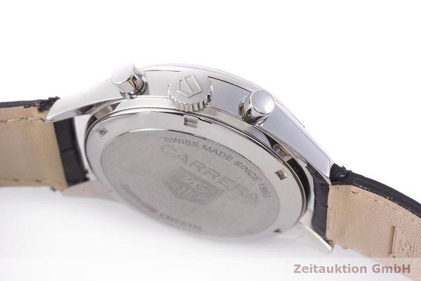 gebrauchte Luxusuhr Tag Heuer Carrera Chronograph Stahl Automatik Kal. 17, ETA 2894-2 Ref. CV2110-0  | 1900041 _0