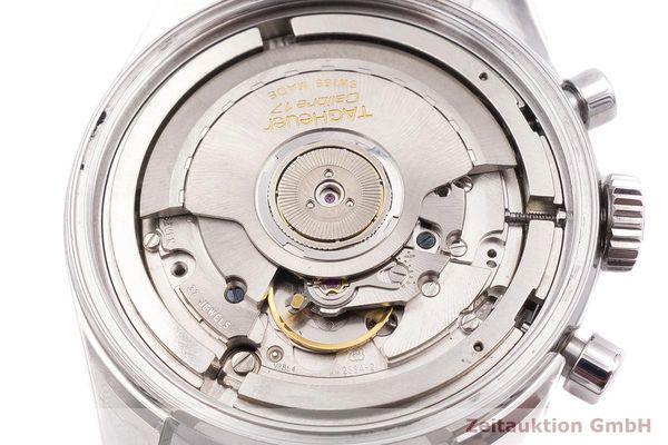gebrauchte Luxusuhr Tag Heuer Carrera Chronograph Stahl Automatik Kal. 17, ETA 2894-2 Ref. CV2110-0  | 1900041 _1