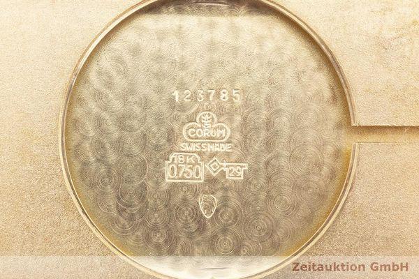 gebrauchte Luxusuhr Corum Buckingham 18k Gold Handaufzug Kal. ETA 7001 Ref. 123.785  | 1900045 _0