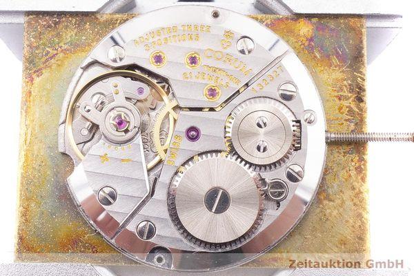 gebrauchte Luxusuhr Corum Buckingham 18k Gold Handaufzug Kal. ETA 7001 Ref. 123.785  | 1900045 _1