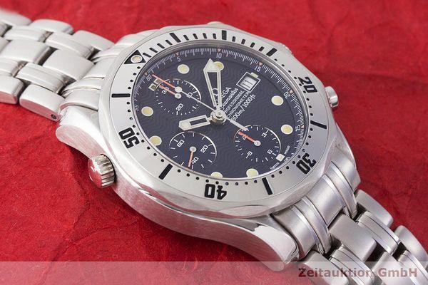 gebrauchte Luxusuhr Omega Seamaster Chronograph Stahl Automatik Kal. 1154 Ref. 178.0504, 378.0504, 175.0504, 375.0504  | 1900054 _1