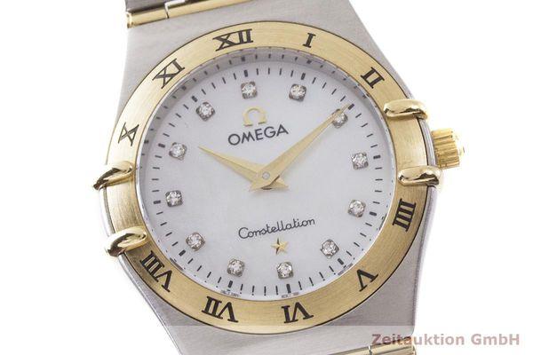 gebrauchte Luxusuhr Omega Constellation Stahl / Gold Quarz Kal. 1456 Ref. 795.1201  | 1900056 _0