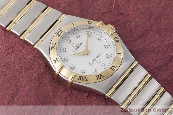gebrauchte Luxusuhr Omega Constellation Stahl / Gold Quarz Kal. 1456 Ref. 795.1201  | 1900056 _1