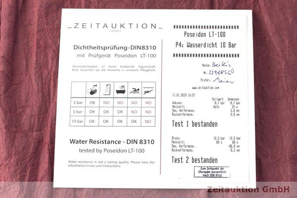 gebrauchte Luxusuhr Breitling Bentley Chronograph Stahl Automatik Kal. ETA 2892A2 Ref. A25368  | 1900069 _1