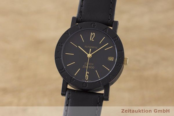 gebrauchte Luxusuhr Bvlgari * Carbon / Gold Automatik Kal. ETA 2824-2    1900074 _0