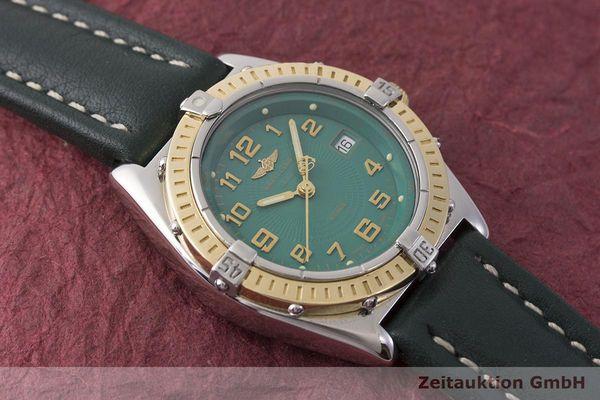 reloj de lujo usados Breitling Wings acero / oro cuarzo Kal. ETA 956612 Ref. D67050  | 1900083 _1