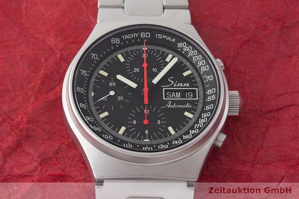 gebrauchte Luxusuhr Sinn 144 Chronograph Stahl Automatik Kal. ETA 7750  | 1900091 _1