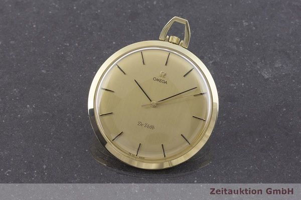 gebrauchte Luxusuhr Omega Taschenuhr 14k Gelbgold Handaufzug Kal. 1030 Ref. 1211  | 1900093 _0