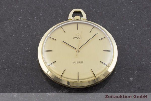 gebrauchte Luxusuhr Omega Taschenuhr 14k Gelbgold Handaufzug Kal. 1030 Ref. 1211  | 1900093 _1