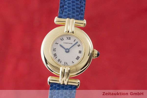 gebrauchte Luxusuhr Cartier Vendome 18k Gold Quarz Kal. 690 Ref. 881095  | 1900339 _0