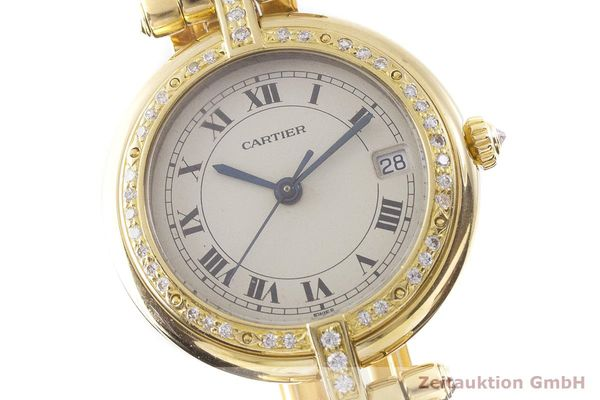 gebrauchte Luxusuhr Cartier Panthere 18k Gold Quarz Kal. 83  | 1900507 _0