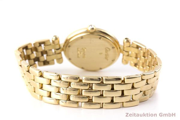gebrauchte Luxusuhr Cartier Panthere 18k Gold Quarz Kal. 83  | 1900507 _1