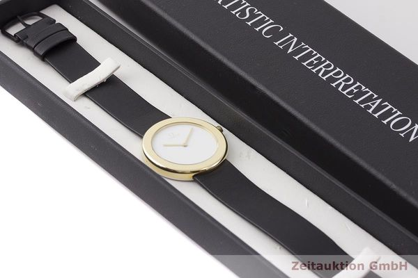 gebrauchte Luxusuhr Omega * 18k Gold Quarz Kal. 255.431 Ref. 195.0430/595.0430 LIMITED EDITION | 1900621 _0
