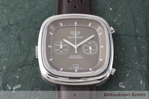 gebrauchte Luxusuhr Tag Heuer Silverstone Chronograph Stahl Automatik Kal. 11 Ref. CAM2111 LIMITED EDITION | 1900625 _1