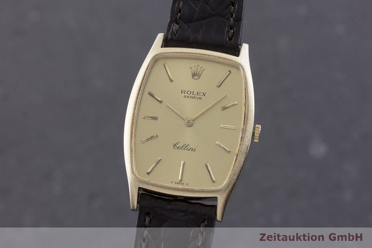 Rolex Cellini 18 ct gold manual winding Kal. 1600 Ref. 3807