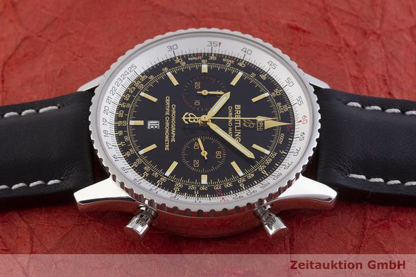 gebrauchte Luxusuhr Breitling Navitimer Chronograph Stahl Automatik Kal. ETA 2892A2 Ref. A41350 LIMITED EDITION | 1901122 _0