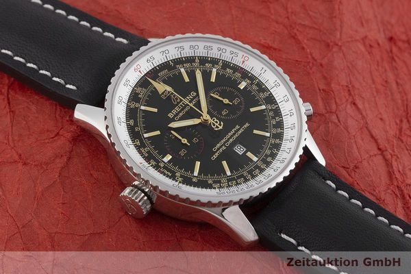 gebrauchte Luxusuhr Breitling Navitimer Chronograph Stahl Automatik Kal. ETA 2892A2 Ref. A41350 LIMITED EDITION | 1901122 _1