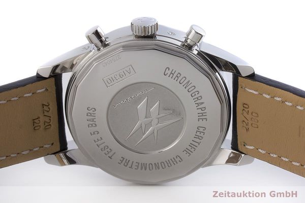 gebrauchte Luxusuhr Breitling Transocean Chronograph Stahl Automatik Kal. 2892A2 Ref. A19310  | 1901223 _0